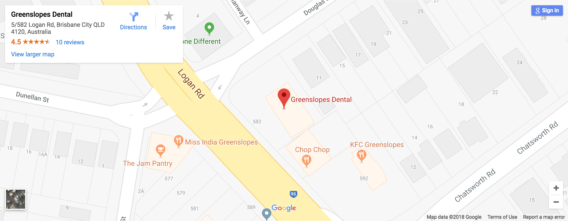 greenslopes dental brisbane location