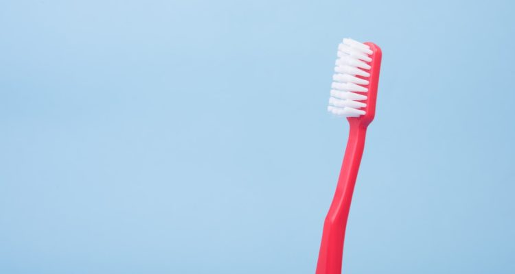 greenslopes dental red toothbrush
